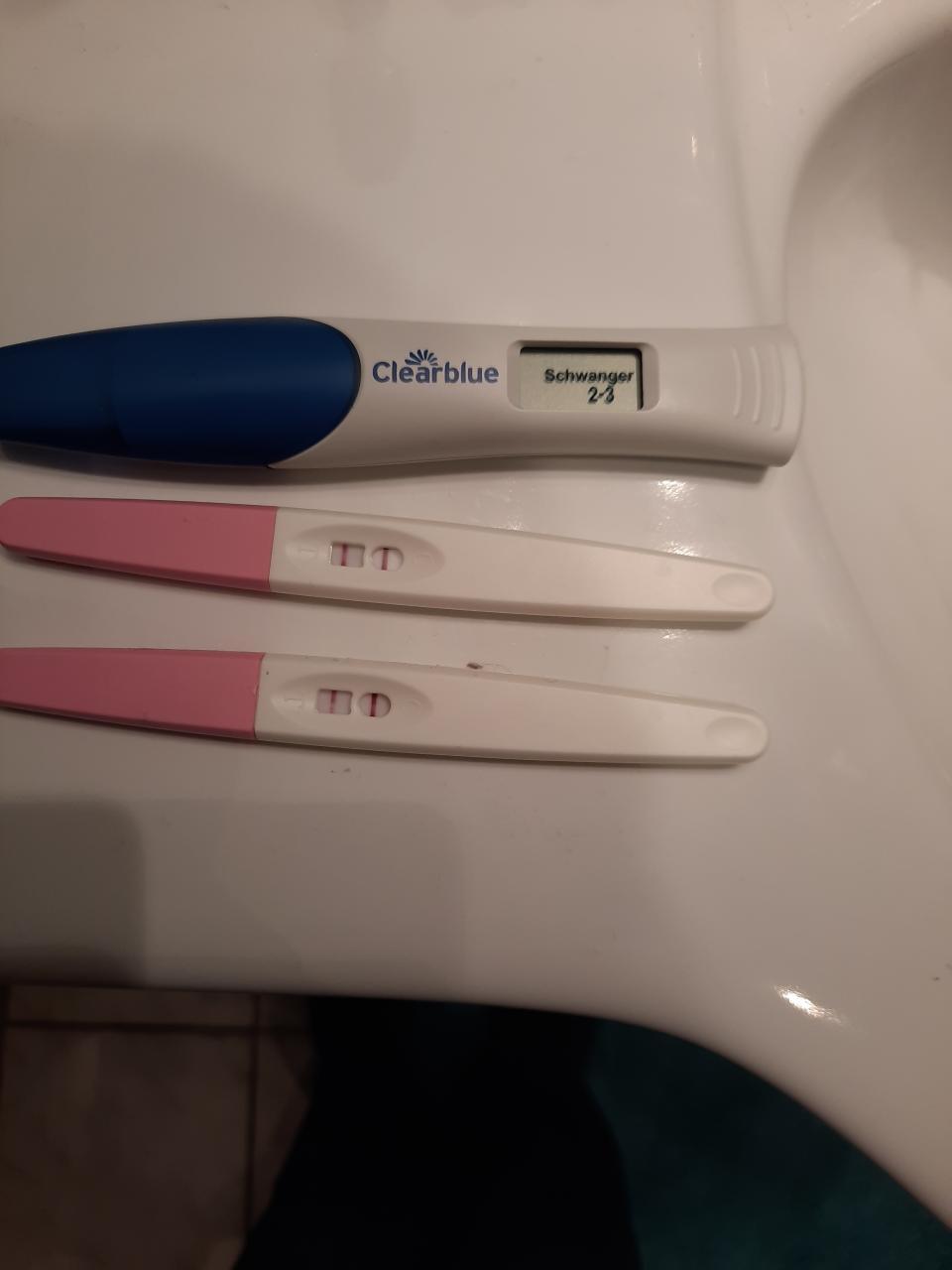 Action Schwangerschaftstest