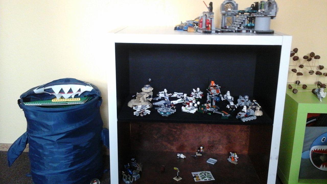 Ideen gesucht: wie Lego Sets im Kinderzimmer aufbewahren ...