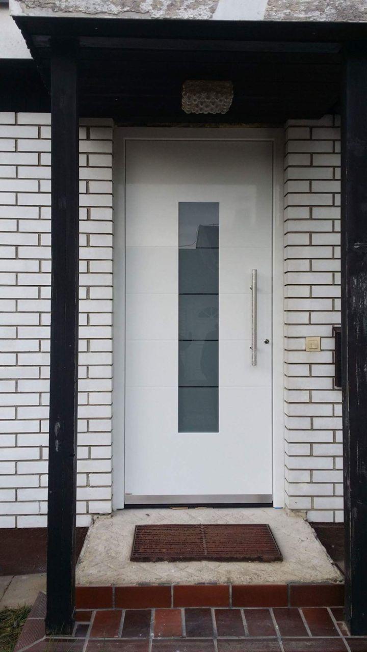 Fabulous Alte Haustür, durch eine neue Aluminium Haustür ersetzten - urbia.de XT44