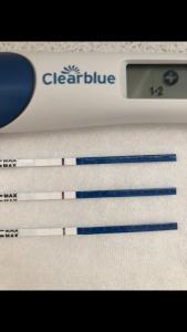 Tage negativ trotzdem schwanger test 4 überfällig Überfällig, ss