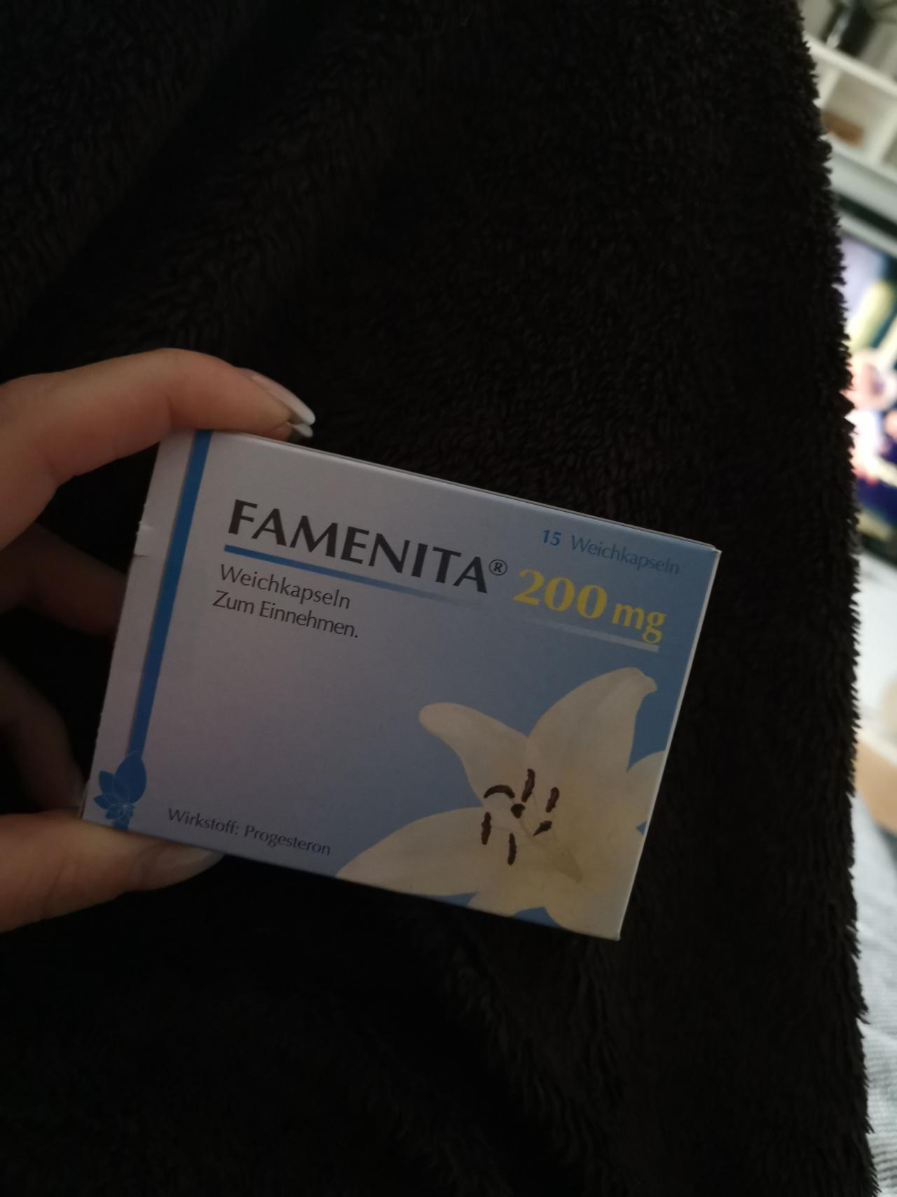 Famenita Weichkapseln Einführen