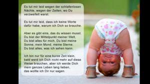 Glückwünsche Gedichte Zitate Zur Geburt Forum Baby Urbia De