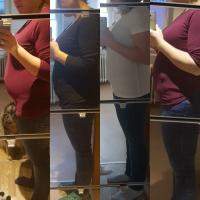 Schwanger bauch übergewicht In welchem