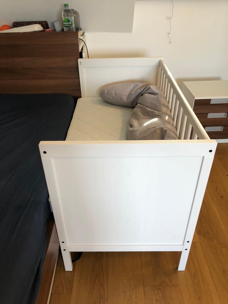 Babybett Zum Beistellbett Umbauen