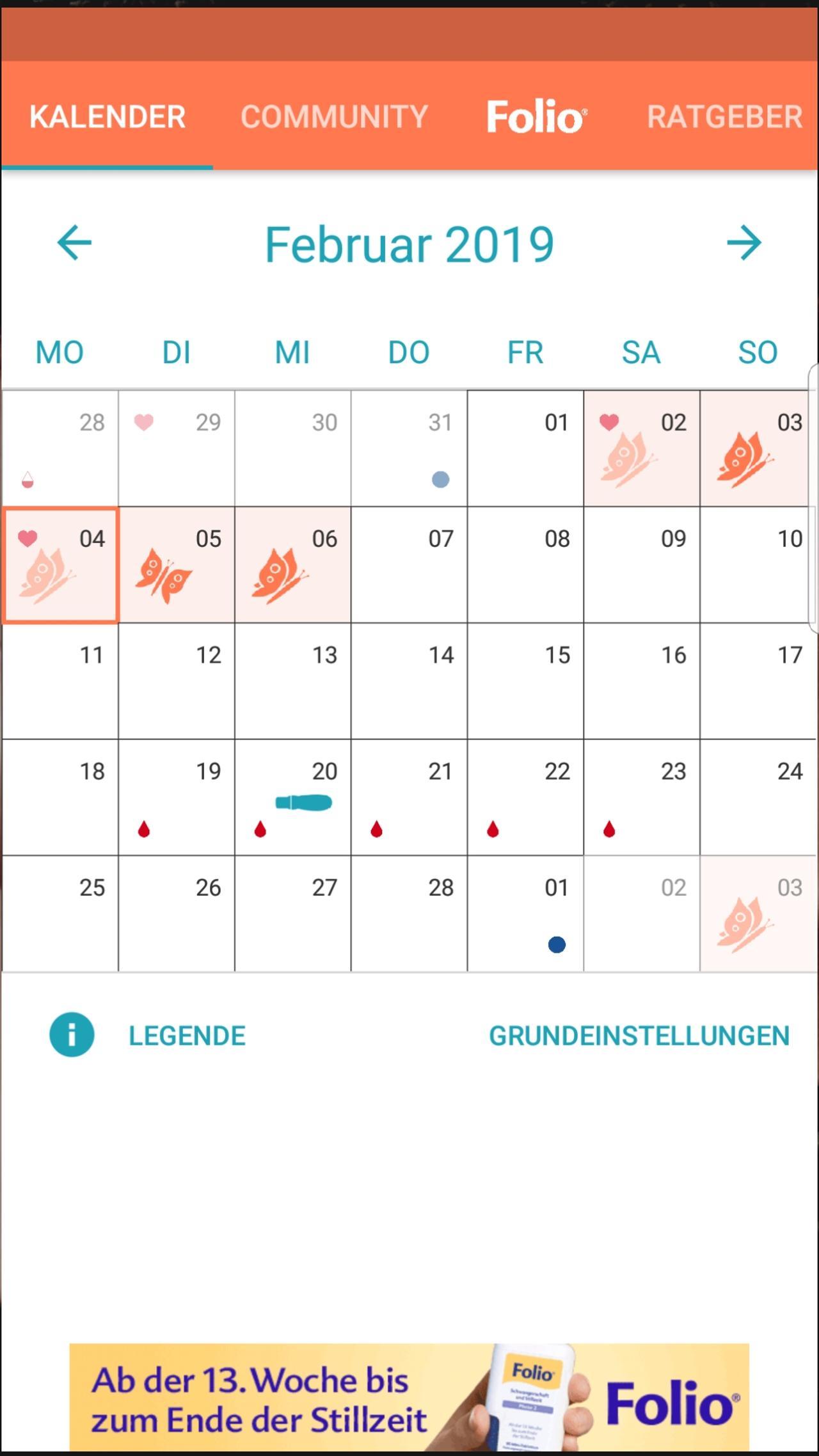 Urbia Kalender