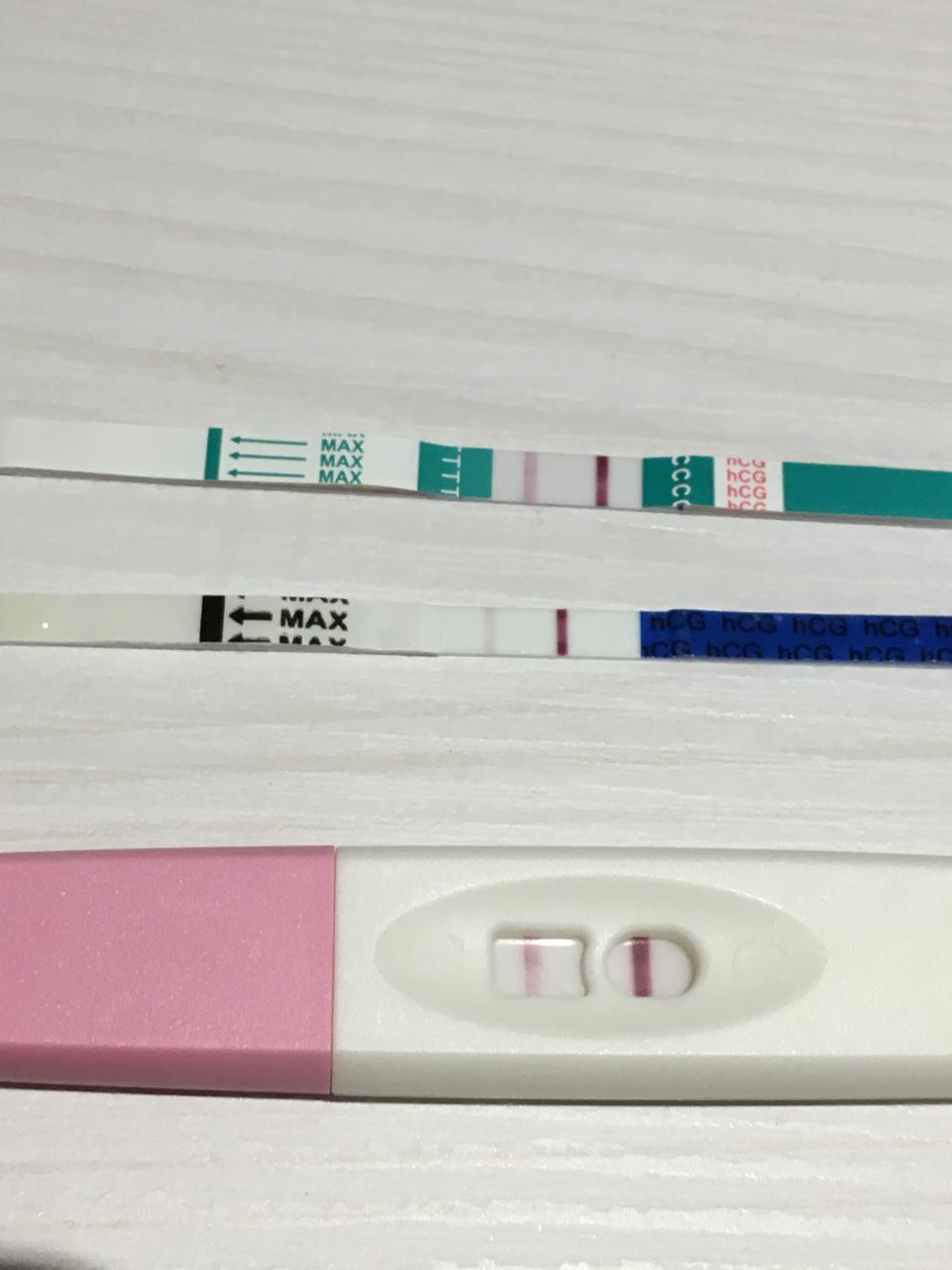Schwangerschaftstest Action