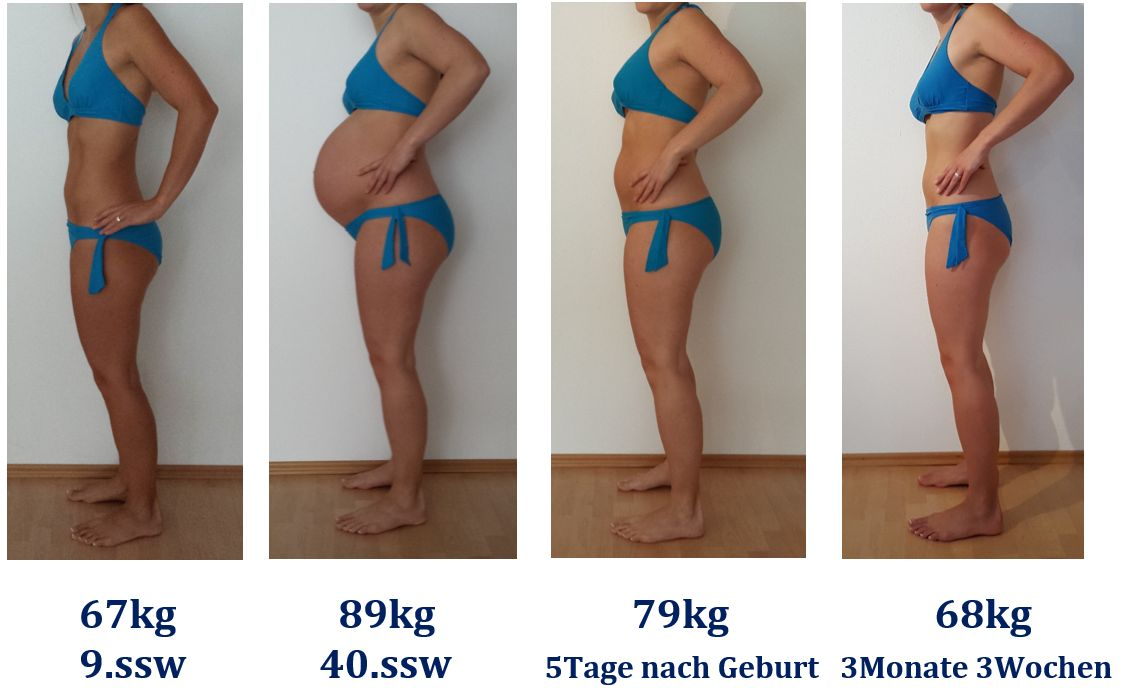 Gewichtszunahme 12 Ssw