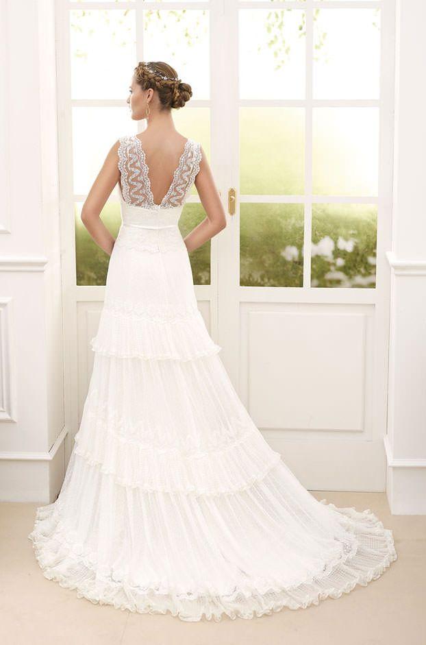 Hochzeitskleid kurz nach geburt