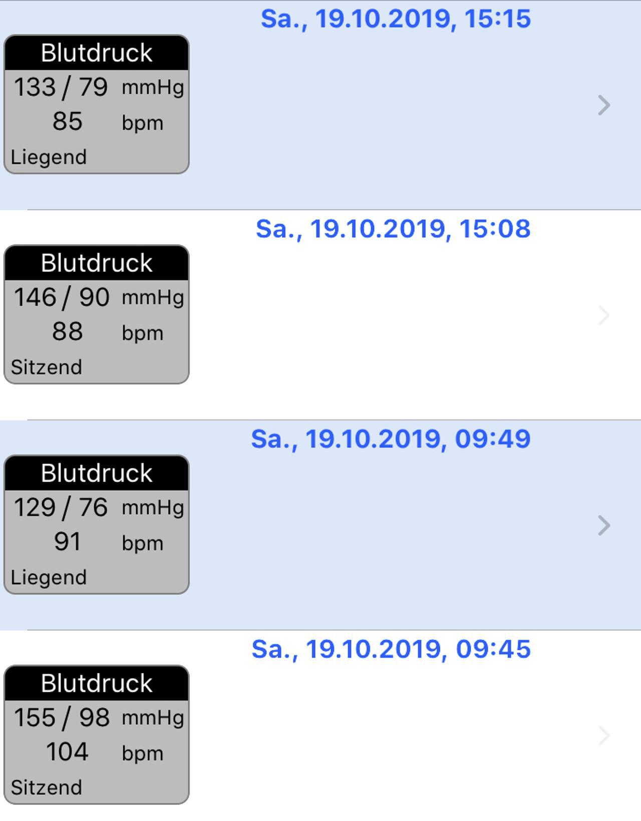 Blutdruck im Liegen ok und im sitzen Katastrophe - Forum..