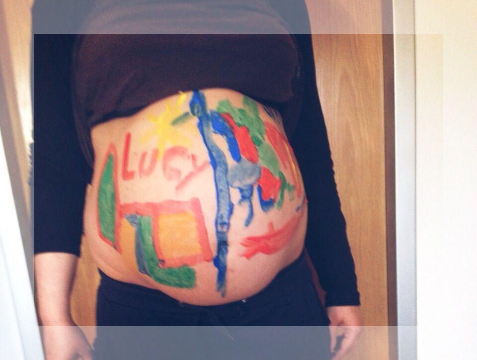 Babybauch Bemalen Mit Kleinkind Forum Schwangerschaft Urbia De