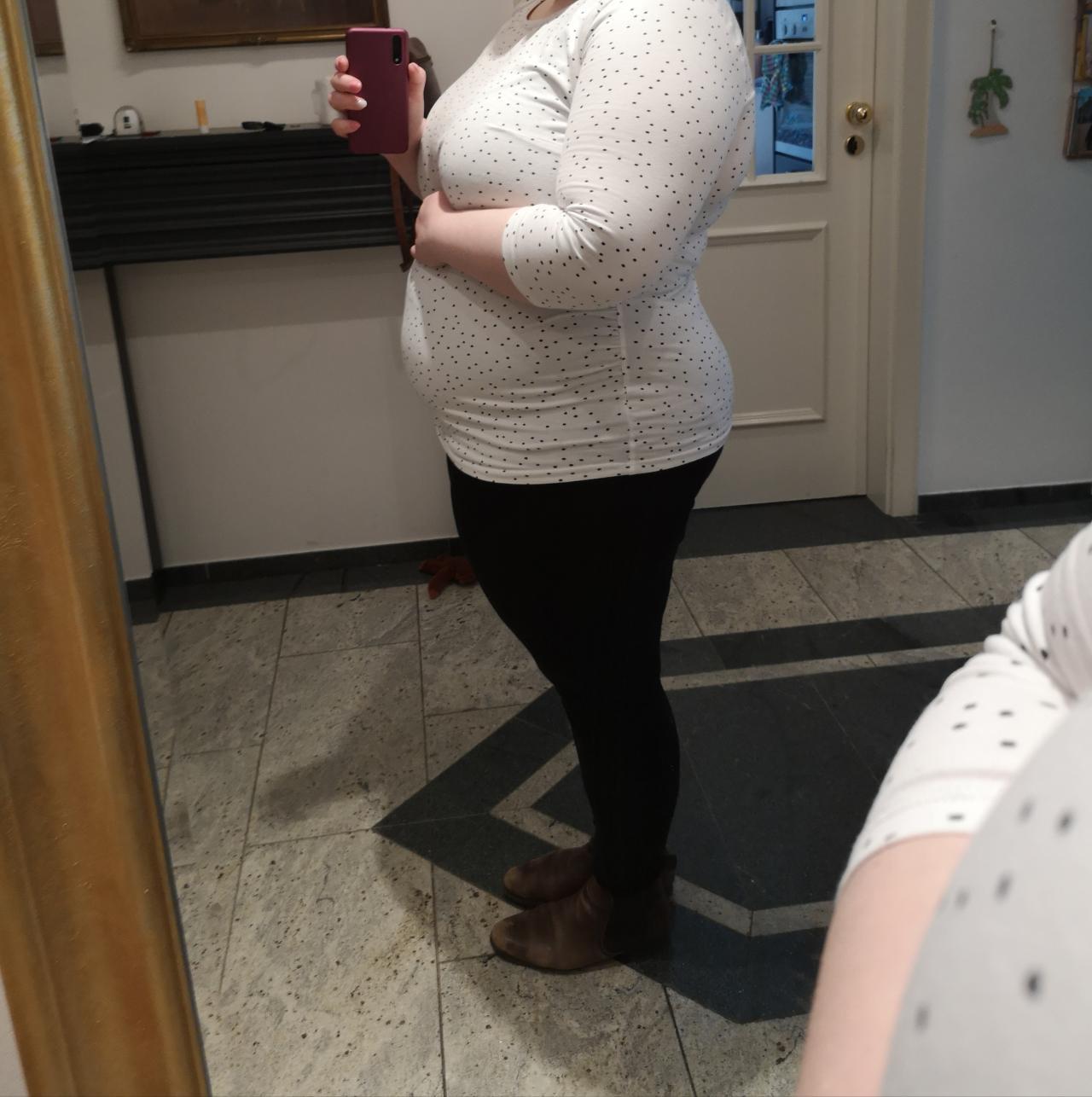 Babybauch Bei übergewicht