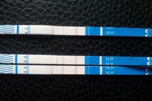 Leicht positiv ovulationstest Ovulationstest seit