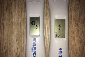 Negativer schwangerschaftstest clearblue