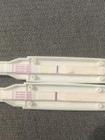 Schwangerschaftstest ganz schwache linie